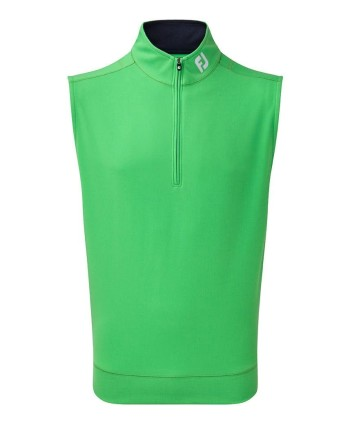 FootJoy Mens Spun Poly Half Zip Vest