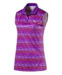 Puma Golf Ladies Road Map Sleeveless Polo Shirt