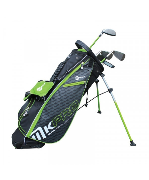 Dětský golfový set MKids Pro Green (145 cm)