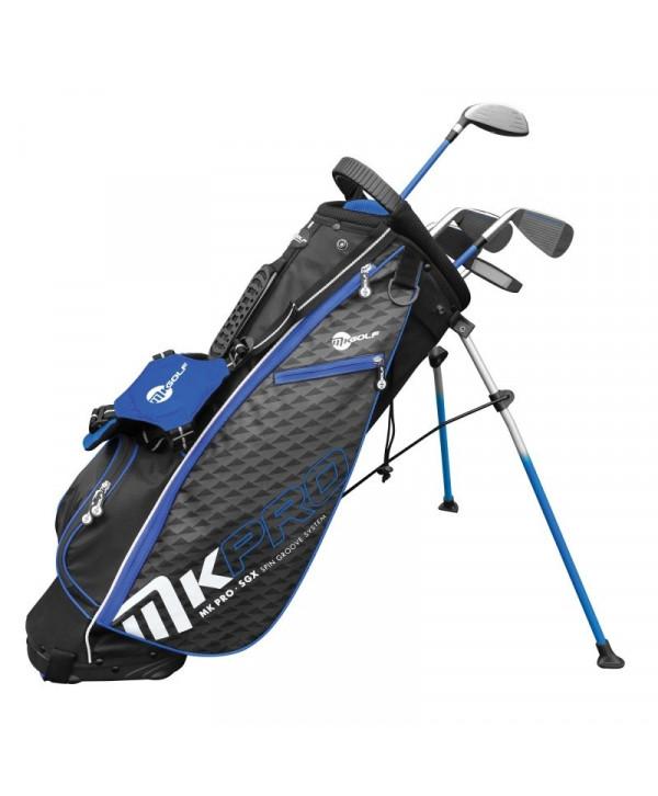 Dětský golfový set MKids Pro Blue (155 cm)