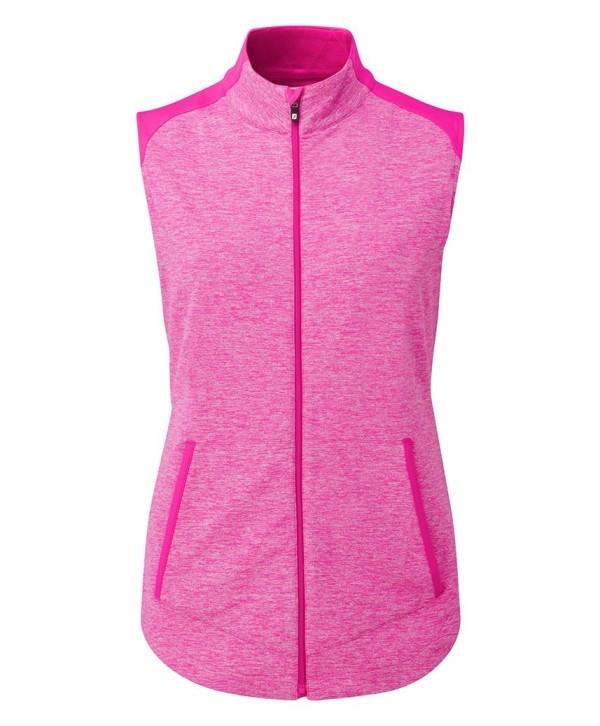 Dámská golfová vesta FootJoy Full Zip Brushed Chill Out Vest