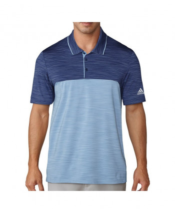 Adidas Mens Ultimate 365 Heather Polo Shirt