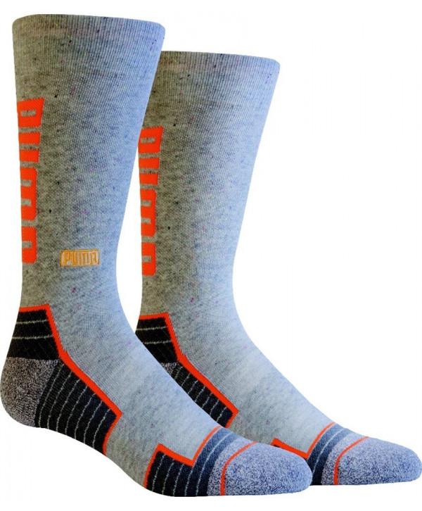 Puma Golf GoTime Levels Crew Socks (Pair)