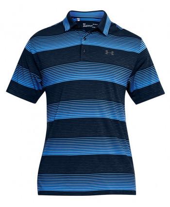 Pánske golfové tričko Under Armour Playoff Bold Stripe