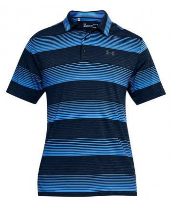 Under Armour Mens Playoff Bold Stripe Polo Shirt
