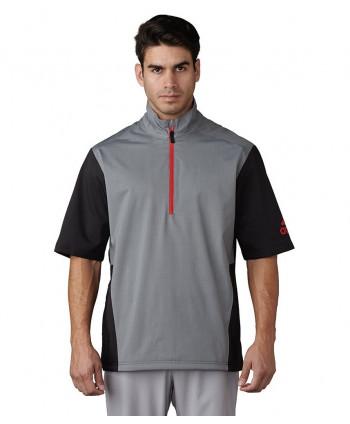 Pánska golfová bunda Adidas ClimaProof Heathered