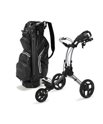 Golfový bag Ecco Watertight  + golfový vozík Rovic RV1C