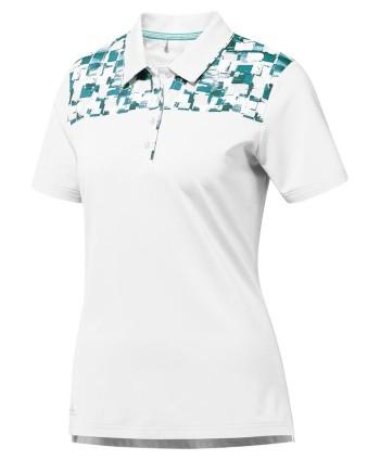 Dámske golfové tričko Adidas Ultimate Short Sleeve Fashion
