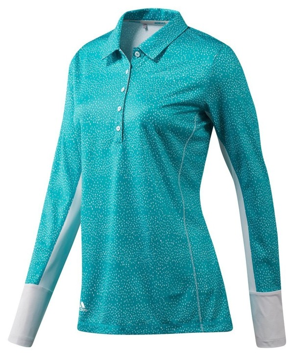 Dámské golfové triko Adidas Printed UPF Long Sleeve