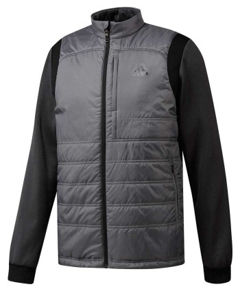 Pánska golfová bunda Adidas ClimaHeat FrostGuard PrimaLoft