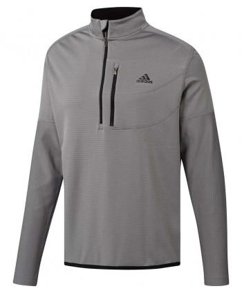 Pánska golfová mikina Adidas ClimaWarm Gridded