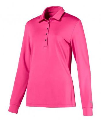 Dámske golfové tričko Puma s dlhým rukávom