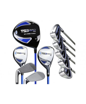 US Kids Tour Series 54 Inch 10-Club Golf Combo Set ALL GRAPHITE 2015