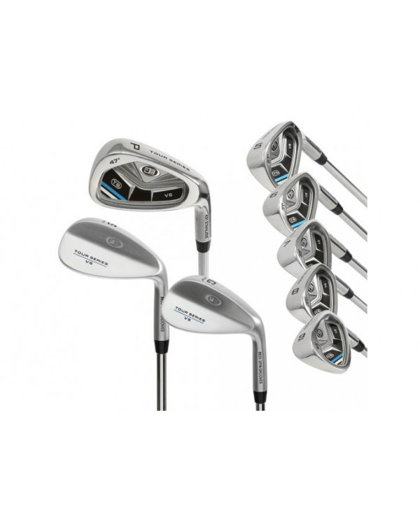 US Kids Tour Series 63 Inch 10-Club Golf Combo Set 2015