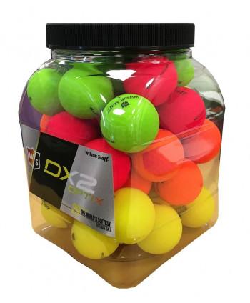 Golfové míčky Wilson Staff DX2 (40 ks) 2018
