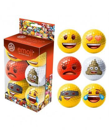 Emoji Golf Balls (6 Balls)