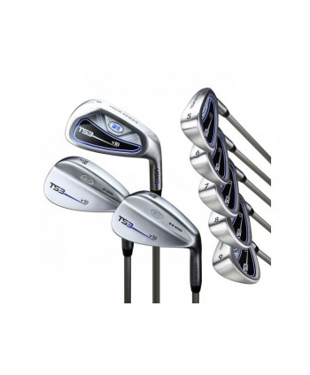 US Kids Tour Series 10-Club Golf Combo Set (Graphite Shaft)