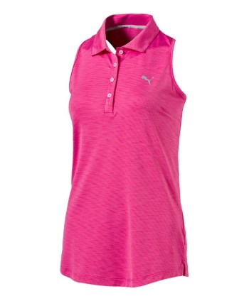 Puma Golf Ladies Racerback Polo Shirt