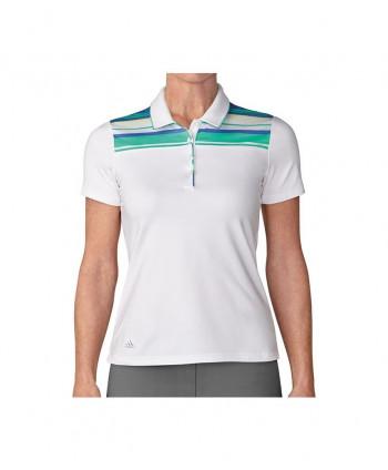 Dámské golfové triko Adidas Essentials 3 Stripes Sleeveless