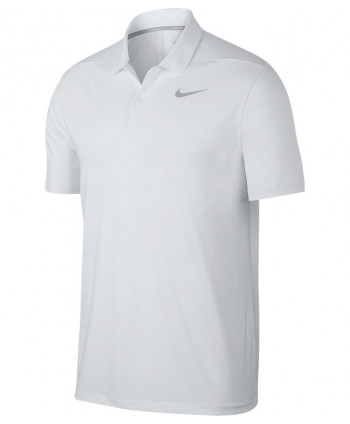 Nike Mens Dry Victory Solid Polo Shirt (Logo on Chest)