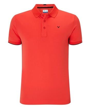 Pánské golfové triko Callaway Contrast Tipped 2018