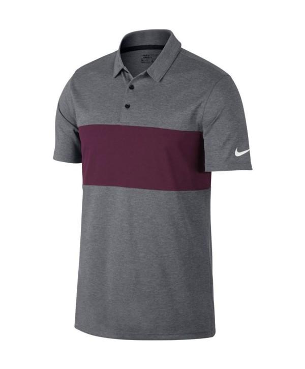 Pánské golfové triko Nike Breathe Colour Block 2017