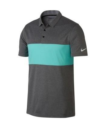 Pánske golfové tričko Nike Breathe Colour Block