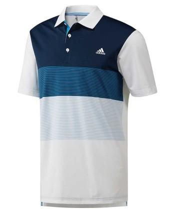 Pánské golfové triko Adidas Colour Block 2018