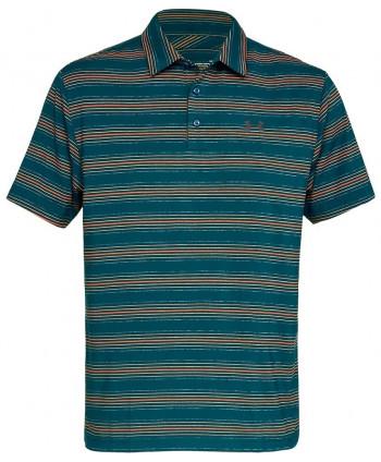 Pánske golfové tričko Under Armour Playoff Striped