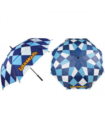Loudmouth Umbrella Red & Grey