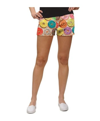 Loudmouth Loudmouth Mini-Shorts Tags, Velikost US US8 (UK14)