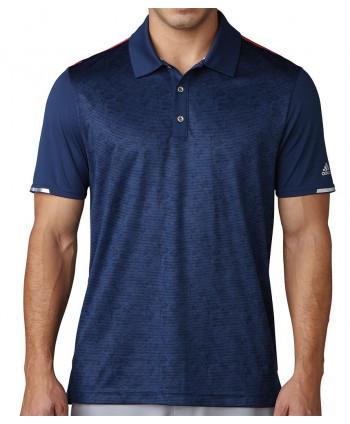 Pánské golfové triko Adidas Climachill 2D Camo