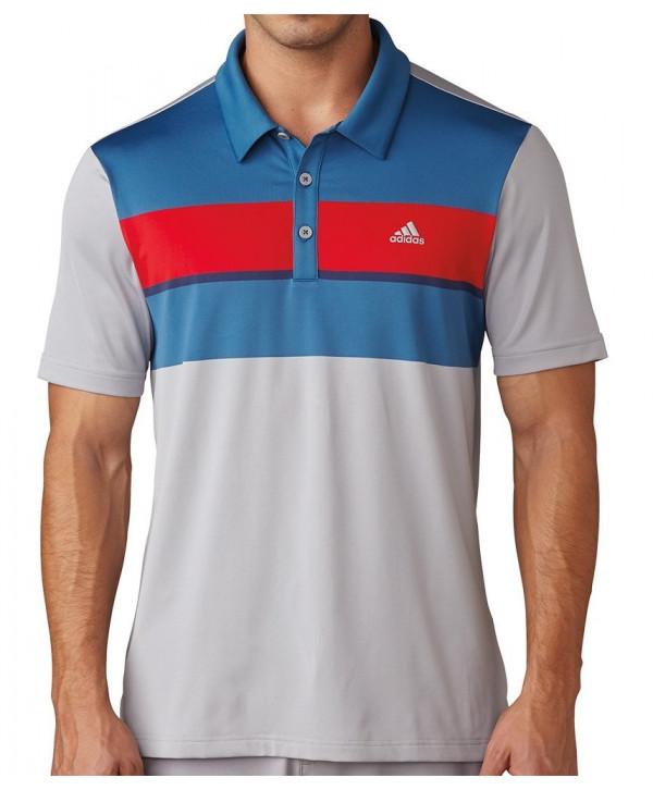 Adidas Mens ClimaChill Pixel Print Polo Shirt