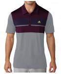 Pánské golfové triko Adidas Body Mapped Competition 2017