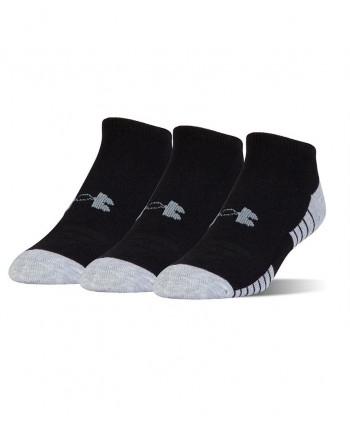 Pánské golfové ponožky Under Armour HeatGear No Show (3 páry)