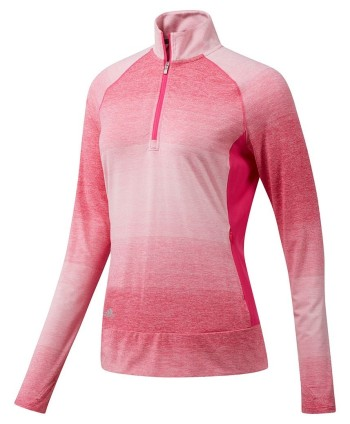Adidas Ladies Rangewear Half Zip Layering Top