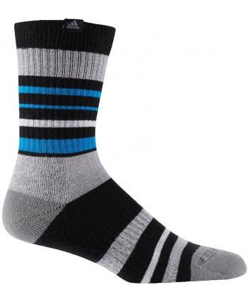 Pánské golfové ponožky Adidas 3 Stripes