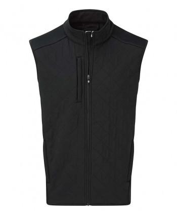 Pánska golfová vesta FootJoy Fleece Quilted Vest 2018
