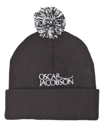 Zimní čepice Oscar Jacobson Knitted Bobble