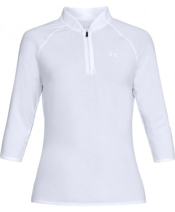 Dámské golfové triko Under Armour Threadborne Edge Zip