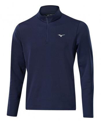 Pánská golfová mikina Mizuno Breath Thermo Half Zip Pullover