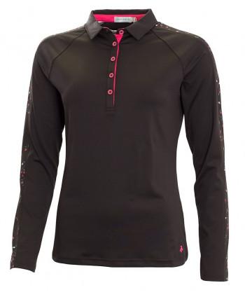 Dámské golfové triko Green Lamb Fortuna Raglan Sleeve