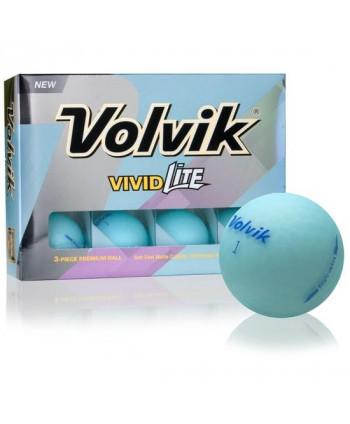 Golfové loptičky Volvik Vivid Lite (12 ks)