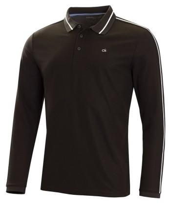 Pánske golfové tričko s dlhým rukávom Calvin Klein Form