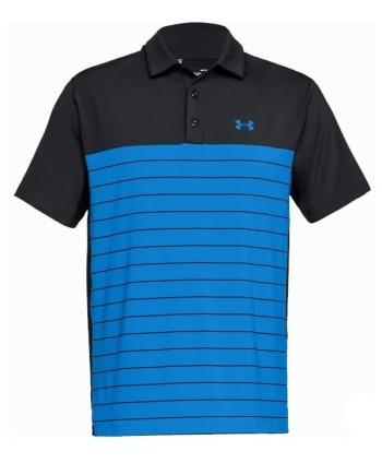 Pánské golfové triko Under Armour Playoff Colour Block Striped