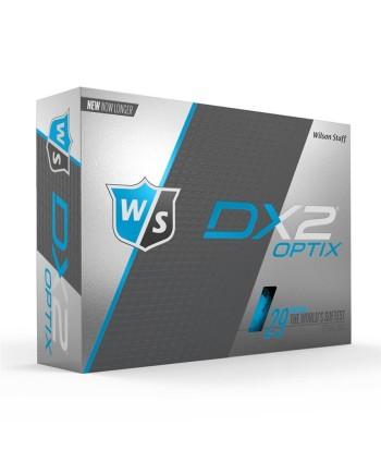 Golfové míčky Wilson Staff DX2 Soft (12 ks), modrá