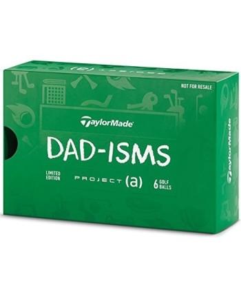 Golfové míčky TaylorMade Project (a) Dadism (6 ks)