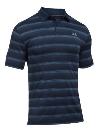 Pánske golfové tričko Under Armour CoolSwitch Bermuda Stripe