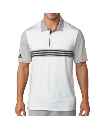 Pánské golfové triko Adidas Ultimate 365 3-Stripes Engineered