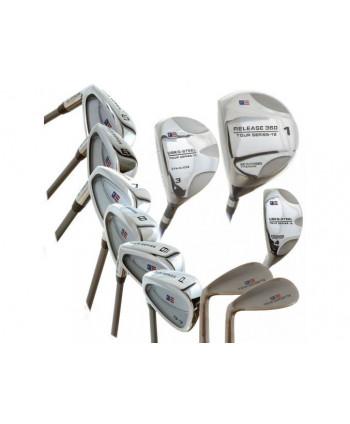 Dětské golfové hole US Kids TS54 - ocel/grafit